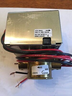 Invensys Vt2212g23a02a Two Position Normally Open 24v Valves 12 Swt