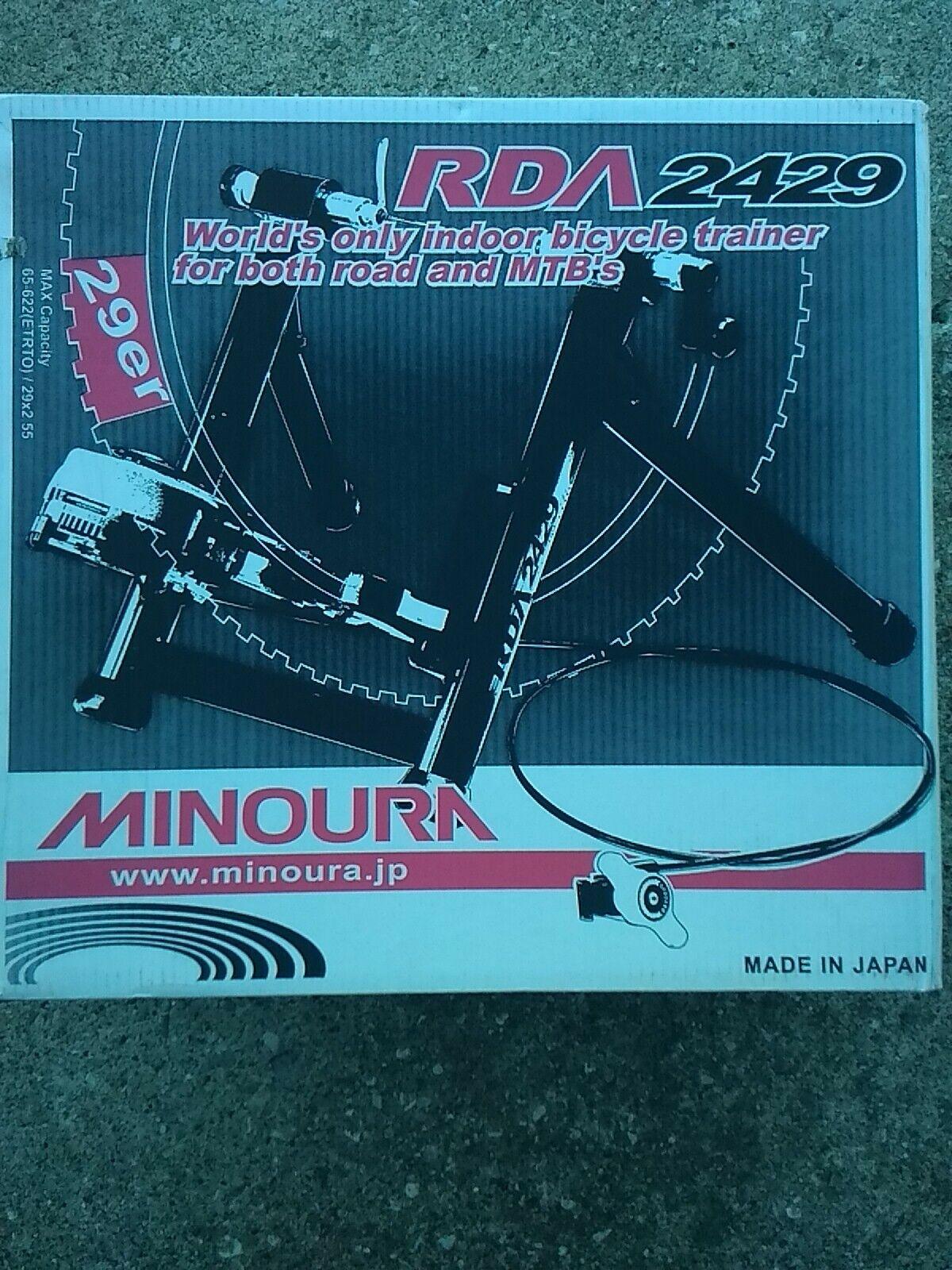 Minoura rim drive trainer, RDA 2429 , NEW. (New - 238 USD)