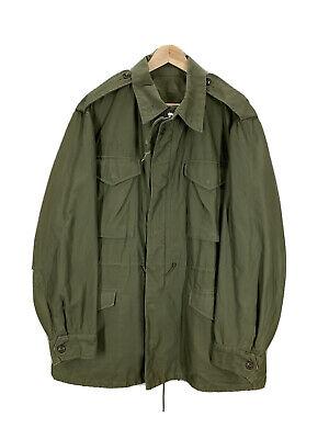 Vintage 50's US Military M51 Green Field Jacket Medium Long EUC Army Marines