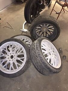Core racing rims and tires