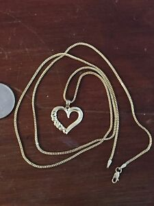 Chain and Heart pendant