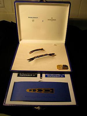 Waterman Edson Boucheron Limited Edition Fountain Pen Set