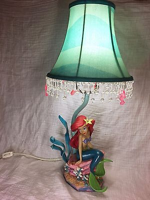 DISNEY THE LITTLE MERMAID ARIEL LAMP DISNEY CATALOG 2003 PRINCESS DECOR RARE!