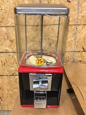 New Refurb Glass Northwestern Model 60 Gumball Candy Toy Nut Vending Machine