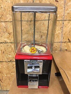 New Refurb Glass Northwestern Model 60 Gumball Candy Toy Nut Vending Machine