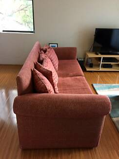 Custom-made 3-seater SOFA/LOUNGE FOR SALE $400 ONO Mortdale Hurstville Area Preview