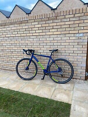 Mens Blue Camo Voodoo Limba hybrid Large 54cm Frame road bike