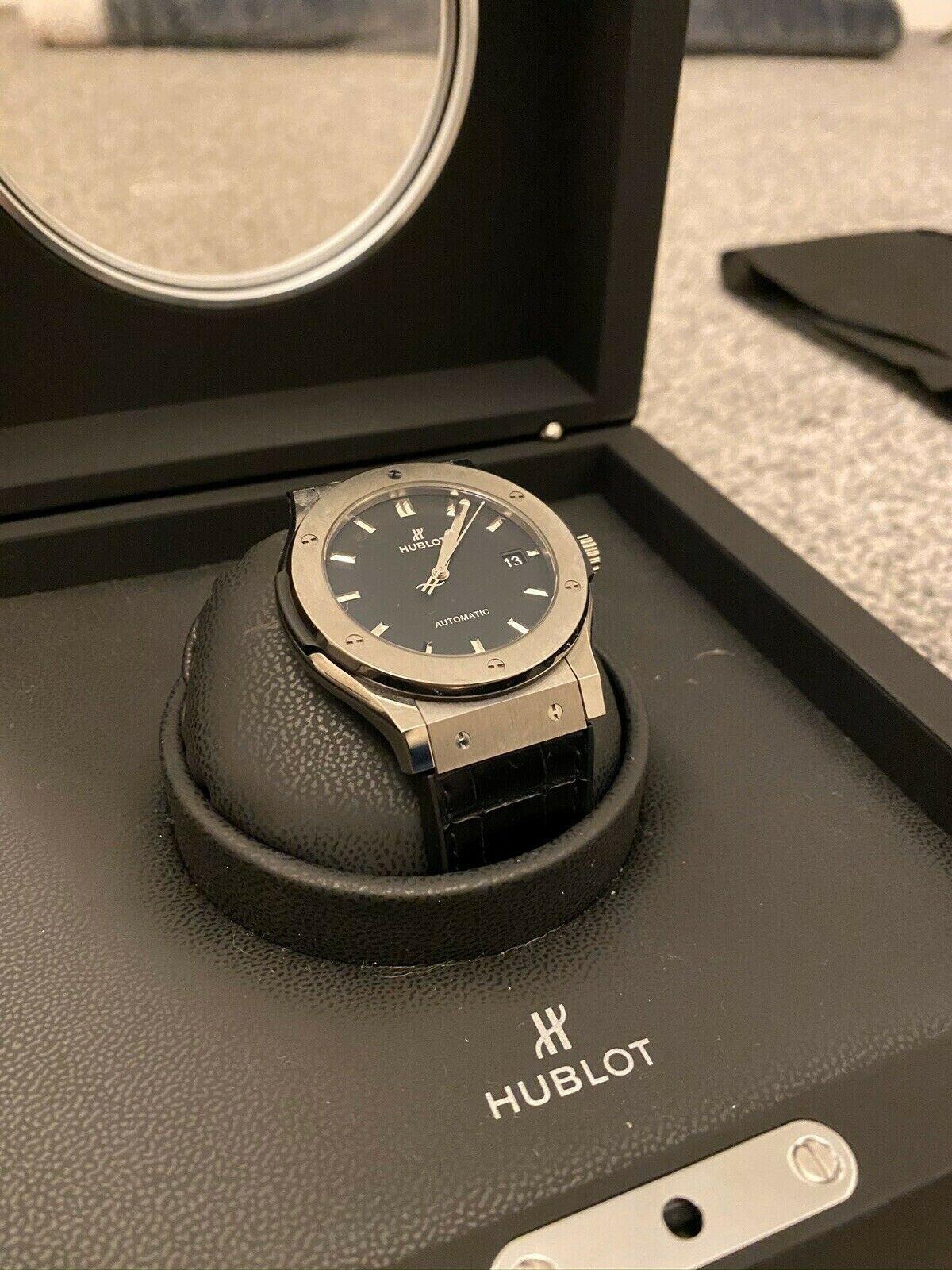 Hublot Classic Fusion Titanium - watch picture 1