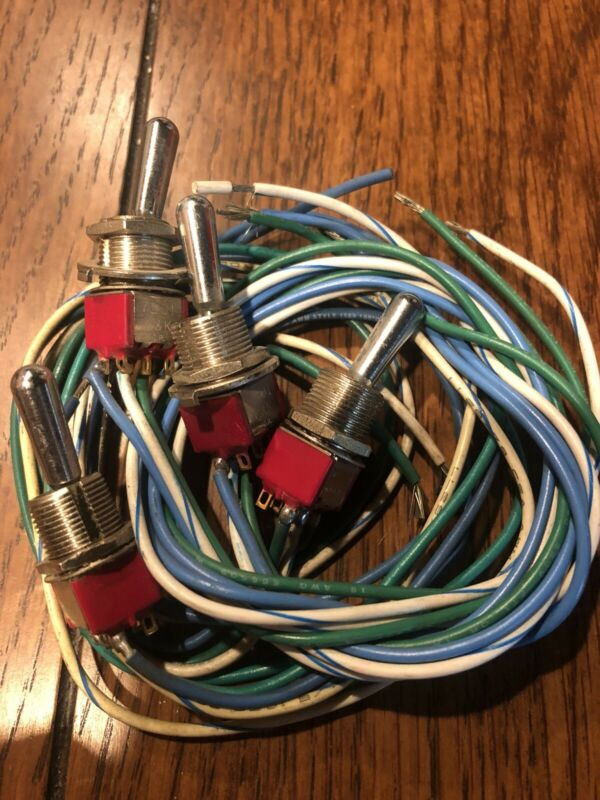 4 switches per bundle!  C & K toggle switch C & K 7201