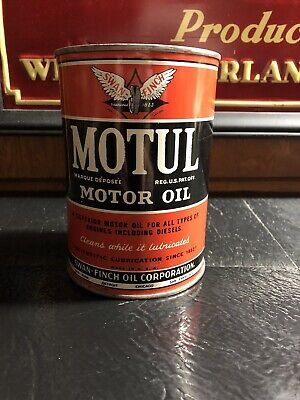 Motul Motor Oil Can Quart.