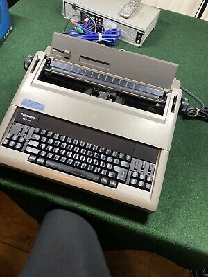 Rare Panasonic Electric Typewriter - Model Kx-e400 Tested Cleaned And Working