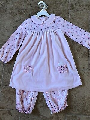 NWT Little Girls 4T Toddler Long Sleeve Easter Spring Boutique Swing Dress 2 pc - Little Girl Clothes Boutiques