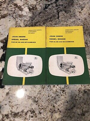 John Deere Diesel Engine For 4555 And 95 Combine Ds-h90684h