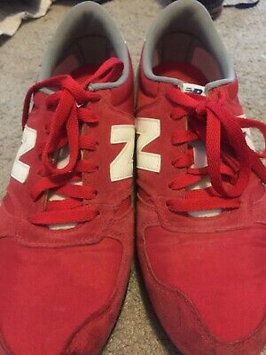 Red/white New Balance 420 U420RG Classic Sneakers Shoes Sz 10 Men's
