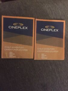 Cineplex Child Admission Tickets