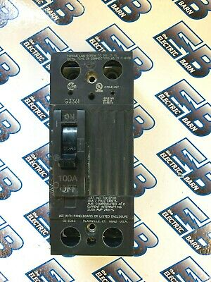 Ge Tqd22100 100 Amp 240 Volt 2 Pole Circuit Breaker -warranty