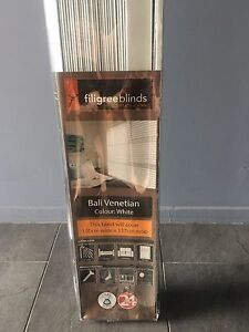 Bali Venetian blind white unopened Deception Bay Caboolture Area Preview