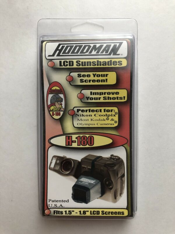 """Hoodman H-180 Viewing Hood For 1.5 To 1.8"""" LCD"""