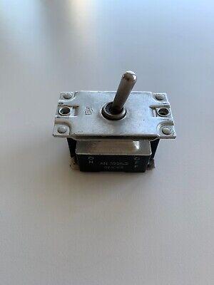 Cutler Hammer An 3226-2 Aircraft Toggle Switch