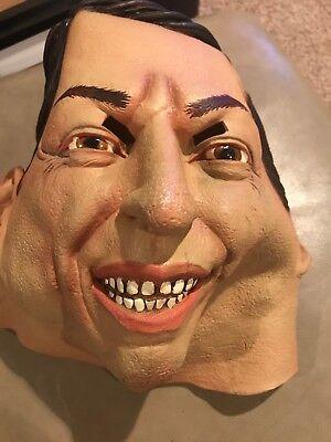 Rare 2000 The Paper Magic Group Halloween Mask Rubber Al Gore Politician