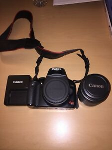 Canon Rebel XSI with 18-55mm lens & bag