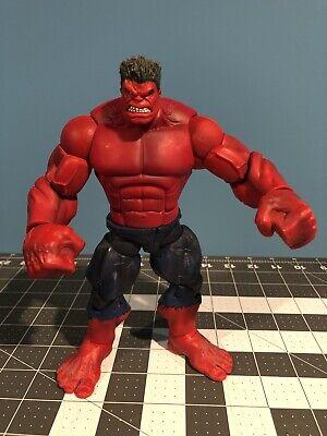 2008 Hasbro Marvel Legends Red Hulk BAF Complete Target Exclusive Avengers