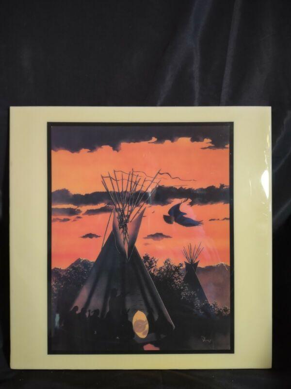 Southwest Native American Mexican Tile Art by P.L. Valdes