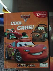 Cars, Planes Fire and Rescue and Thomas and Friends Busy Books Regents Park Logan Area Preview