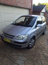 Hyundai Getz 2004 Manual 115000km Revesby Heights Bankstown Area Preview