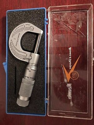 Brown And Sharpe Micrometer Set