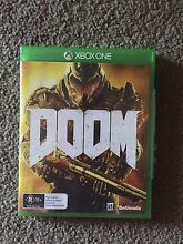 Xbox One  Doom game Merewether Newcastle Area Preview
