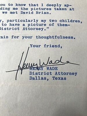 HENRY WADE John Kennedy Assassination OSWALD & RUBY PROSECUTOR ROE Vs. WADE RARE