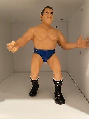 WWF LJN 1986 ORIGINAL BRUNO SAMMARTINO WRESTLING ACTION FIGURE WWE LEGEND ICON