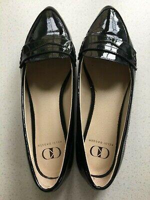 Black Patent Kelsi Dagger Flat Shoes