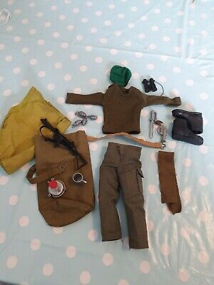 VINTAGE ACTION MAN original 1st issue basic soldiers Outfit in V Nice Condition!