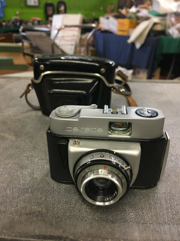 Vintage Beier Beierette Camera With Case Lens Fires!