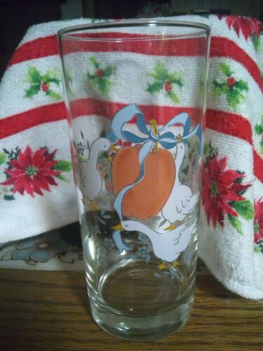 """International Marmalade Glass Tumblers 5 5/8"""" Set of 3 Excellent"""