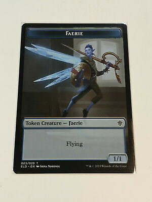 MTG - Token - Faerie Token (ELD) - NM Pack Fresh