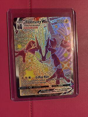Pokemon TCG Shining Fates. FULL ART SHINY TOXTRICITY VMAX SV113. Pack Fresh PSA