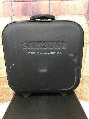 Samsung Sdp-950 Digital Presenter Document Camera And Case Tested