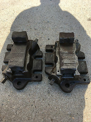 Used Set Of 2 Bullard Vertical Boring Mill Vtl Face Plate Jaws