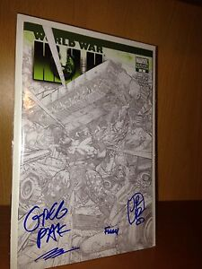 World War Hulk #3 - 4X Signed