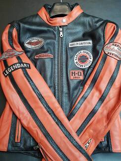 MEDIUM Harley Davidson Whirlwind Leather Jacket Womens