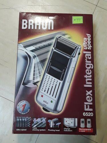 BRAUN Flex Integral 6520 Ultra Speed pivoting head cordless