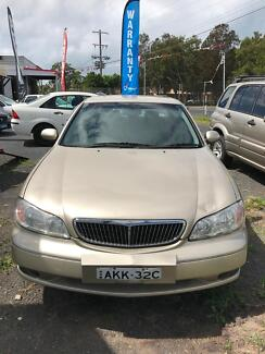 2001 Nissan Maxima Sedan Long Jetty Wyong Area Preview