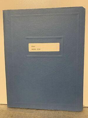Original Cohu Dc Voltage Standard Model 303a Operating Instructions Rare