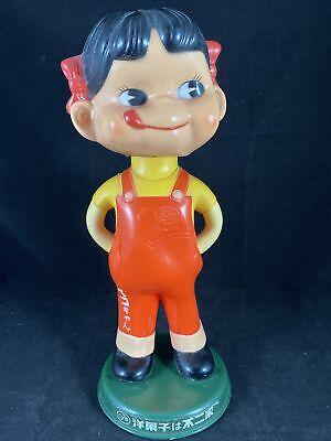 Vintage Fujiya Bobbing Bobble head Peko Ltd Ed Promo Advertising Mascot R5