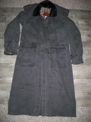 Outback Trading Bush Trader Drover Canvas Duster Riding Men