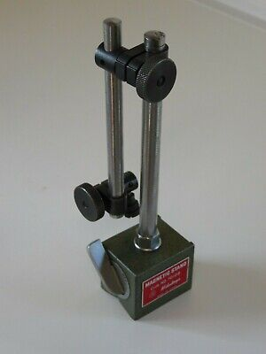 Mitutoyo Magnetic Indicator Stand No. 7010b Adjustable Rod Universal Clamps