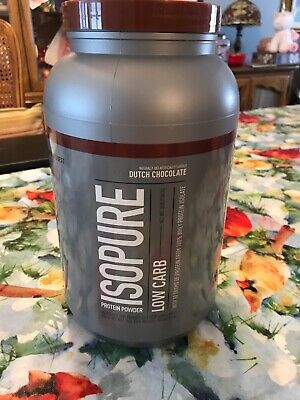 Natures Best Isopure Low Carb Protein Powder - Dutch Chocolate 2